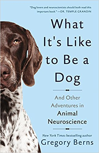 Cover of Gregory Berns's book What It's Like to Be a Dog