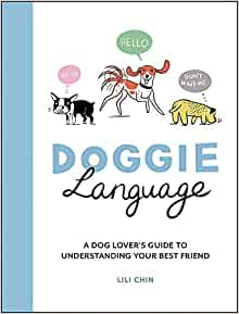Cover of book called Doggie Language